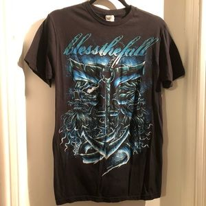 Other - Bless the Fall Unisex T-SHIRT good condition !